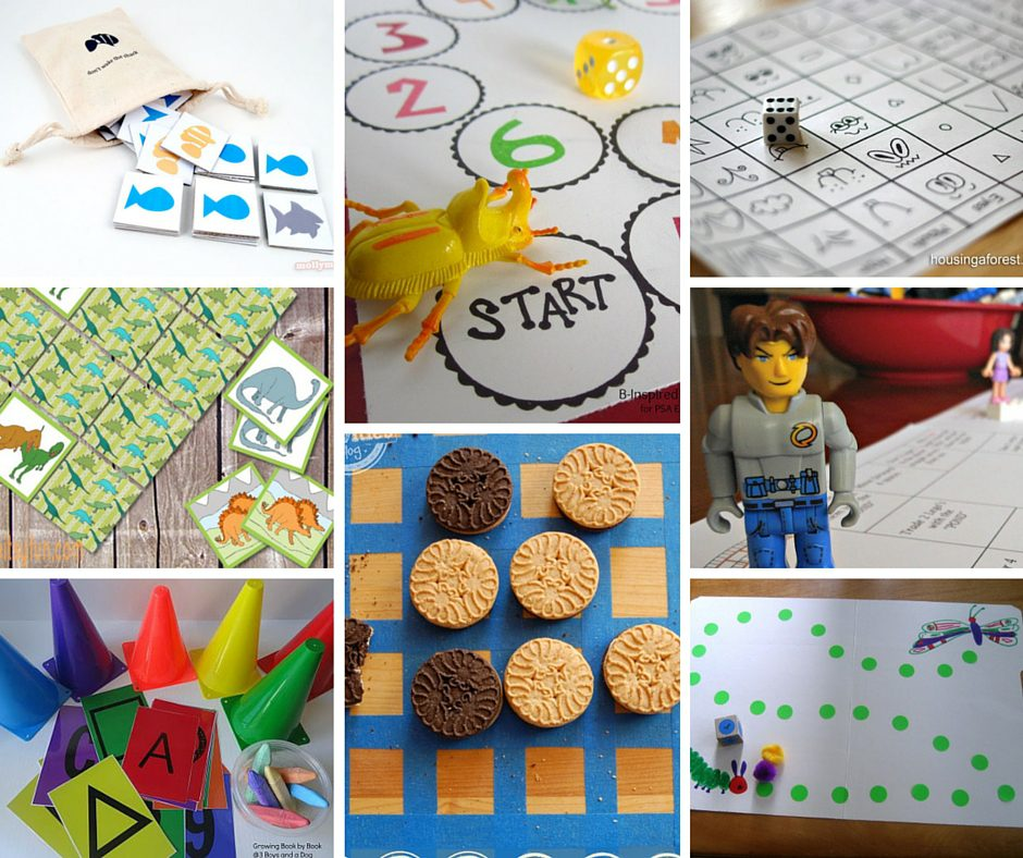 12 DIY Board Games for Kids- Boogie Wipes