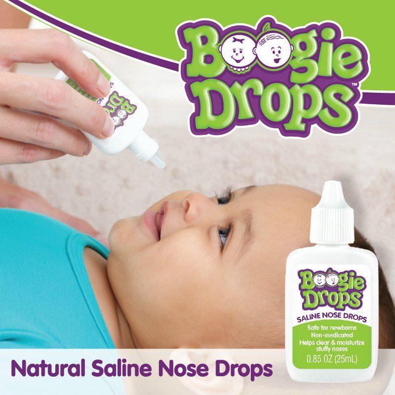 Boogie Drops® saline nose drops
