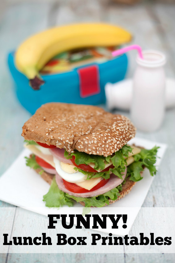 Funny lunch box printables for kids with a sense of humor. Your kids will laugh out loud when they find these awesome jokes and fun facts!