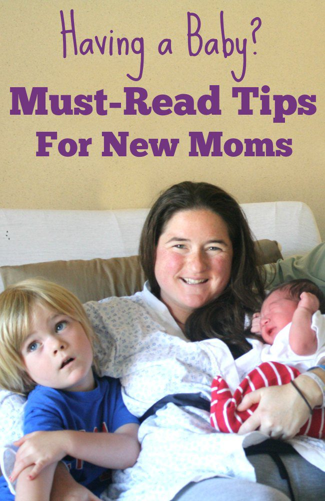 Having a baby? Don't miss these must-read tips for new moms. From the hospital to your first few days at home - every new mom should read these great tips!