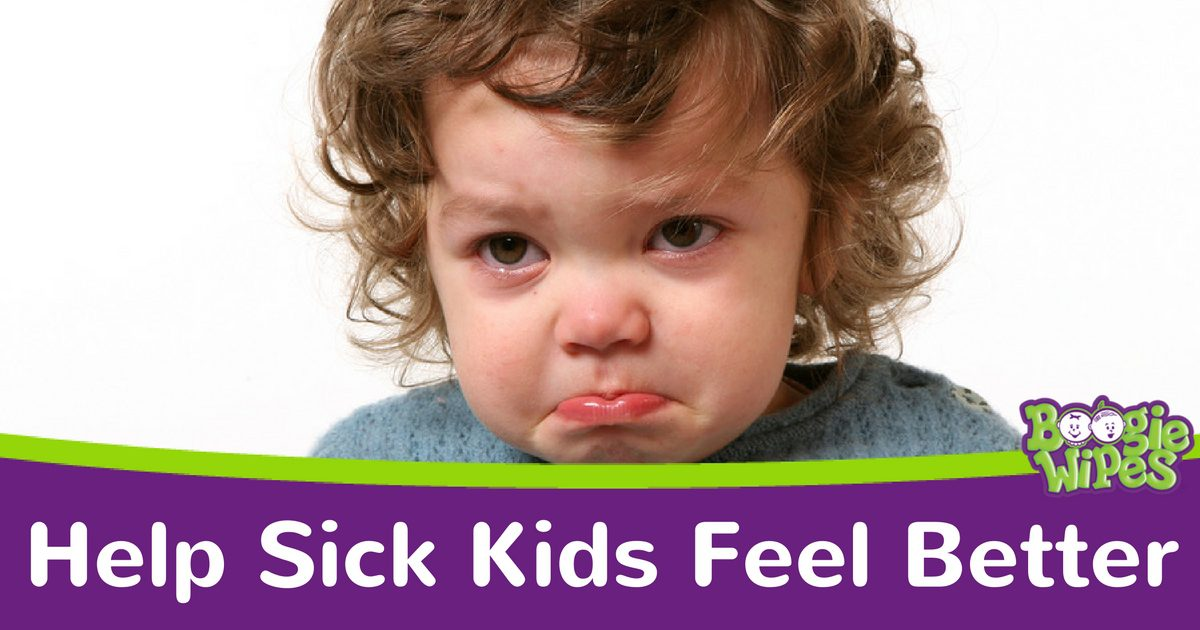 Help your Sick Kids Feel Better - Boogie Wipes