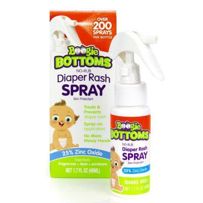 Boogie Bottoms® No-Rub Diaper Rash Spray
