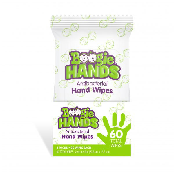Boogie Hands Hand Sanitizing Wipes