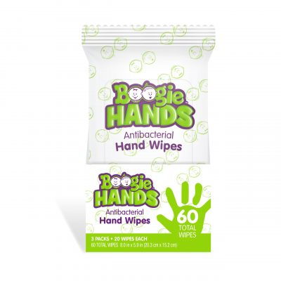 Boogie Hands™ Antibacterial Hand Wipes