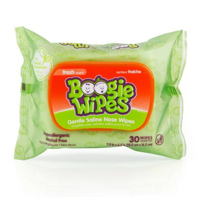 Boogie Wipes® Saline Nose Wipes