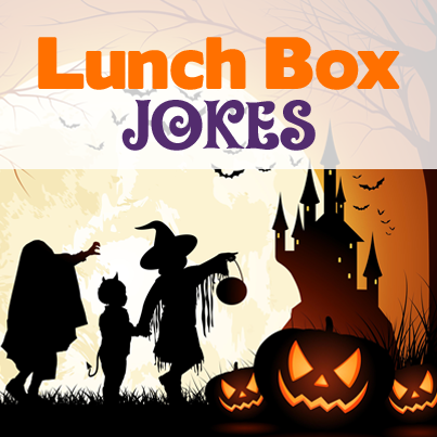 Spooky Halloween lunch box jokes that your kids will love. Just in time for Halloween!